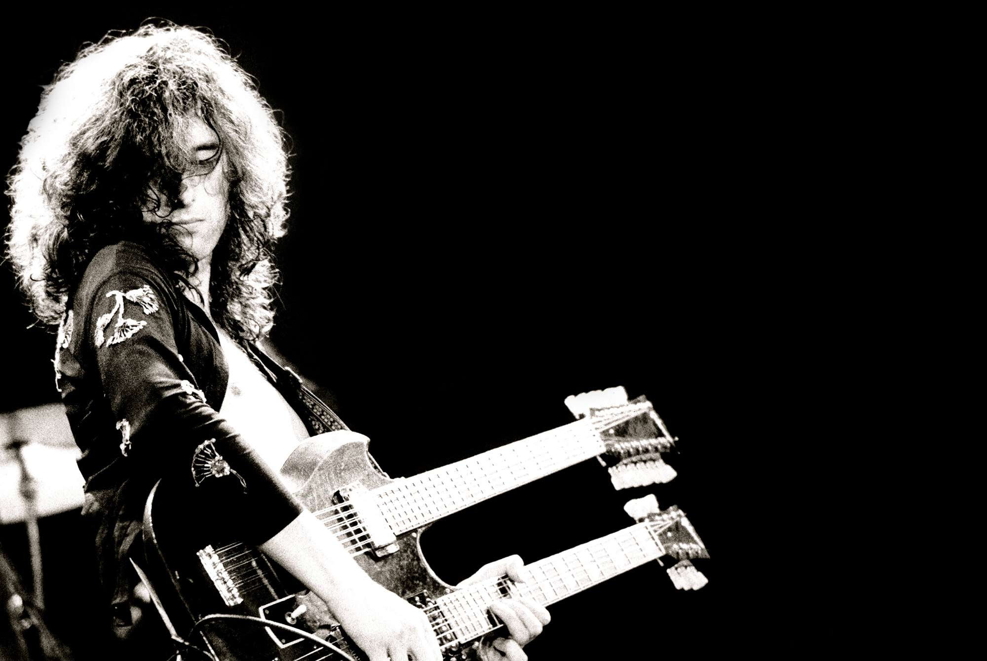 Jimmy Page and Robert Plant Live At The Shark Tank