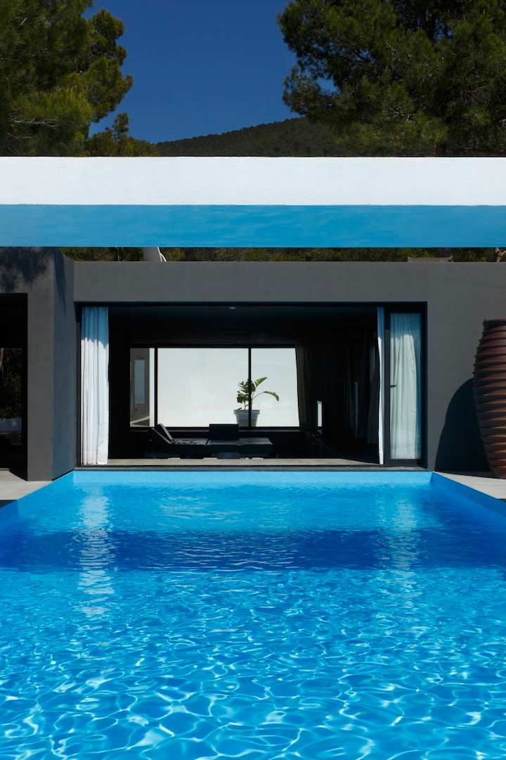 villa nicky mit seeblick nahe cala vadella ibiza style. Black Bedroom Furniture Sets. Home Design Ideas