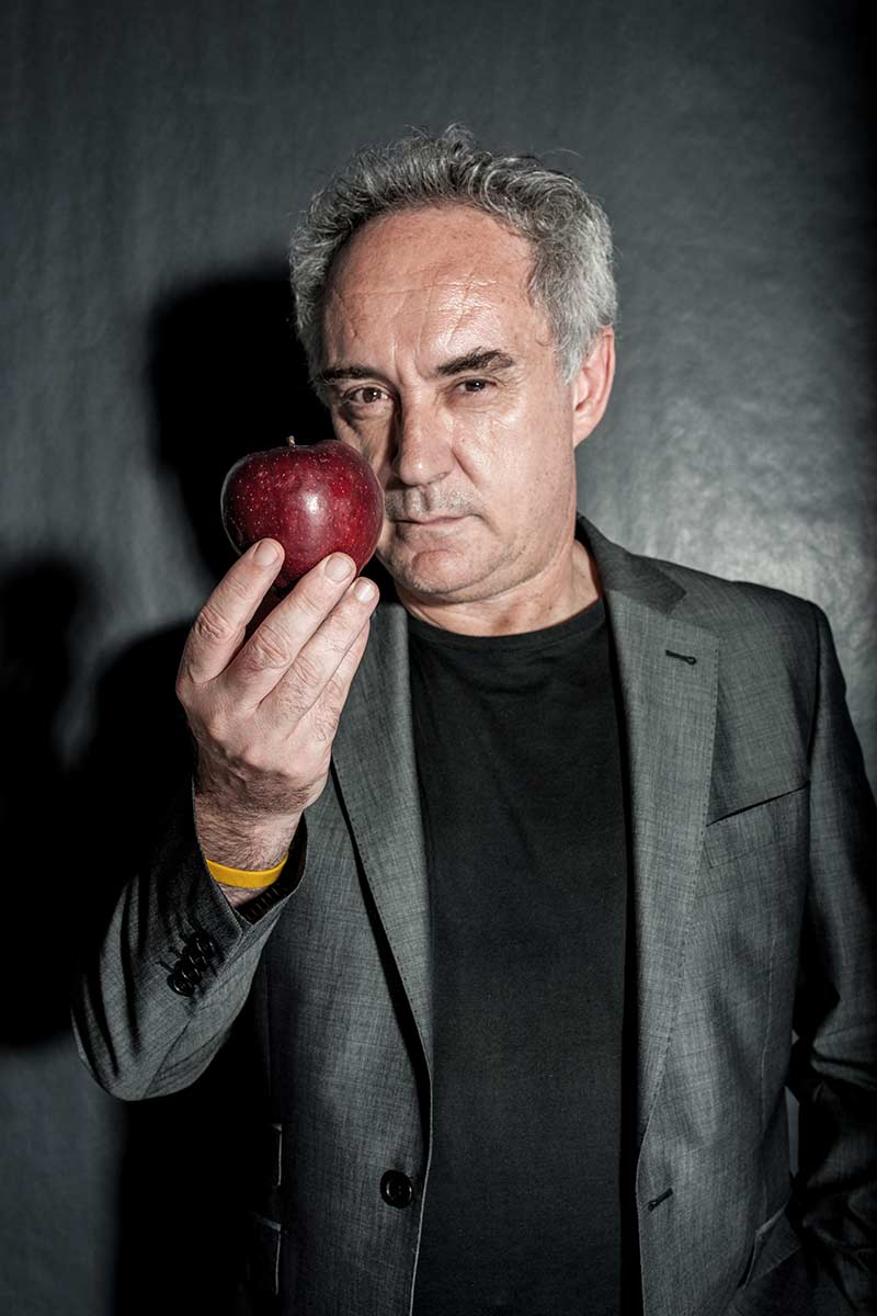 ferran adria These fantastic recipes from chef ferran adrià include his genius toasted spaghetti with clams and pistachio-crusted rack of lamb.