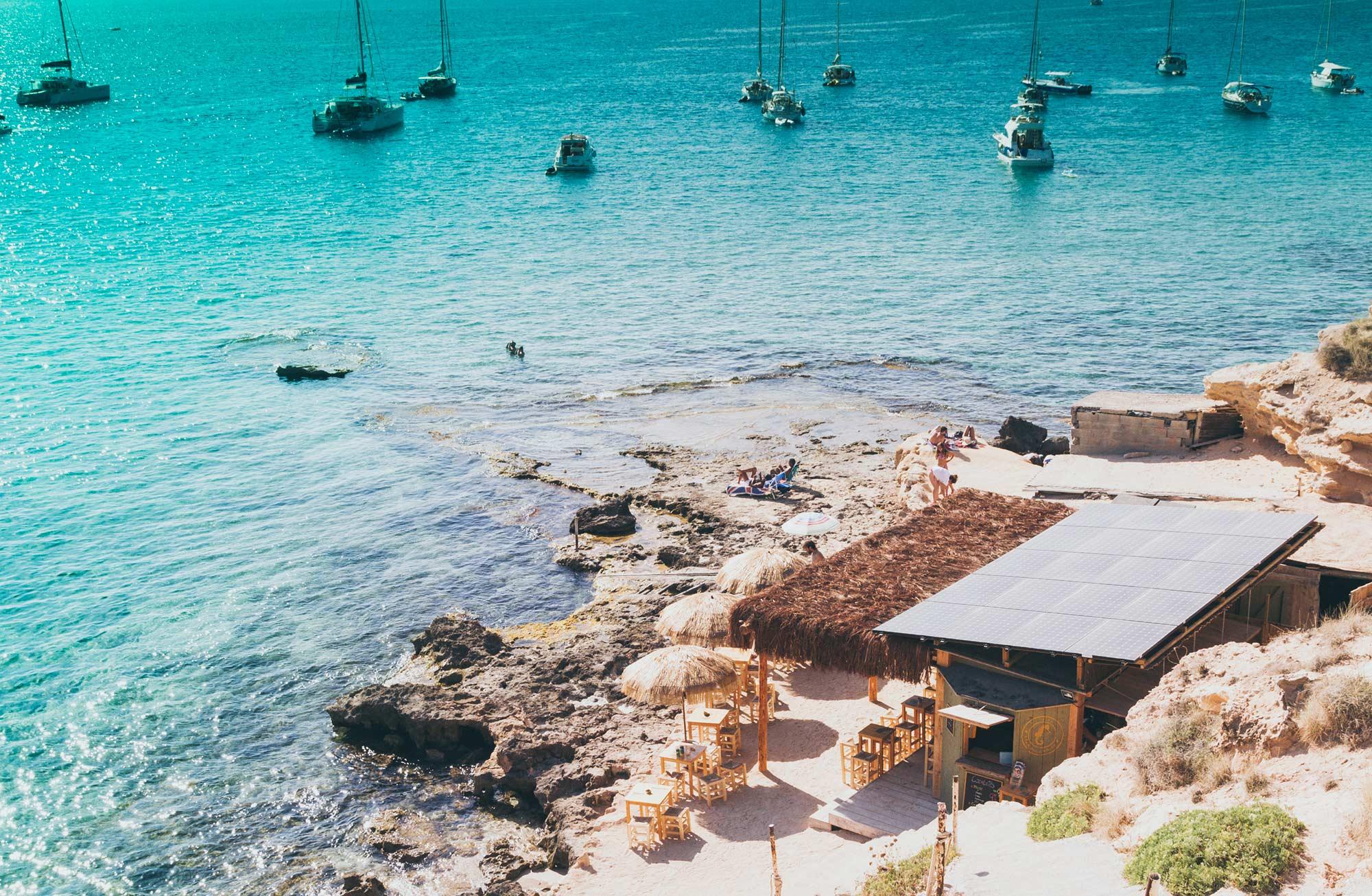 Cala Escondida - Ibiza Style