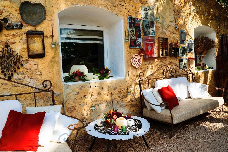 A mi manera restaurant chill out ibiza style for Jardin secreto wine